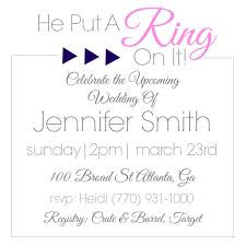 Bridal Shower Invitation Samples Examples Of Bri Website With Photo Gallery Wedding Shower Invitation 12