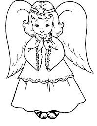 These printables are a creative way for kids to build fine motor skills for handwriting. Angel Coloring Pages To Print Coloring Home