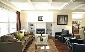 Decorating Rectangular Living Room Model Unique Decorating