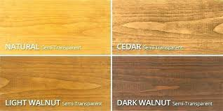 Oak Stain Color Chart Deck Stain Colors Lowes Sweetrides Info