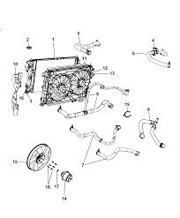 2008 dodge avenger radiator related parts