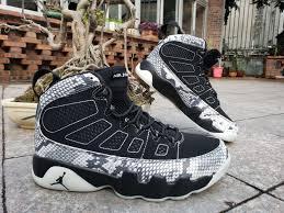 Black Jordan Air White 'snakeskin' 9 Sale For
