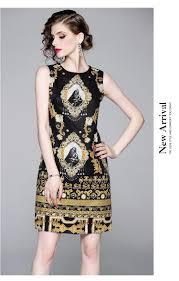<b>2019 Banulin</b> Runway Designer <b>Summer Women</b> Elegant Retro ...