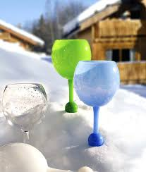 beach wine glasses these beach glasses float in the water and can stand up in the beach wine glasses