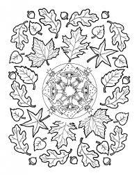 Fall Mandala Herbstmandala Mandala Paddenstoelen Throughout