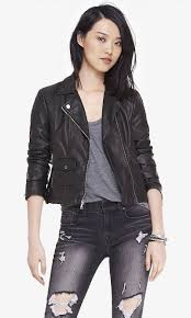 curly coveting the quilted shoulder minus the leather jacket from express
