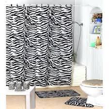 animal print shower curtain bath accessories set black zebra animal print bathroom rugs shower curtain world