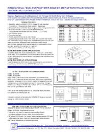 Hz To Watts Conversion Chart European Voltage Transformer International Power Converter