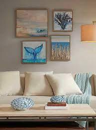 decorative coastal wall art sets