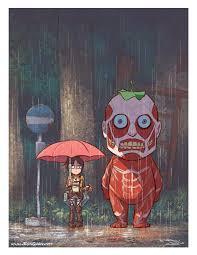 Ron Chan — My Neighbor Titan! Or maybe <b>Attack on Totoro</b>? It...