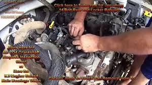 junkyard lm engine swap part b wiring harness intake junkyard 5 3 lm7 engine swap part 3b wiring harness intake removal