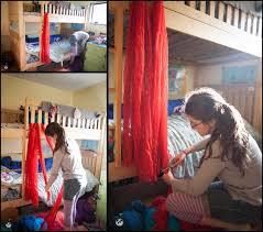 diy bunk bed tent ideas