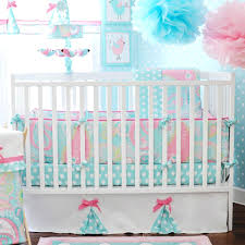 decoration circus crib bedding 5 elephant baby girl themed nursery