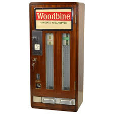 Old Cigarette Vending Machine For Sale Simple Vintage Woodbine Virginia Cigarettes Vending Machine At 48stdibs