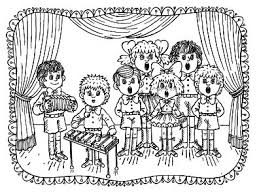 Kindergarten Music Coloring Pages At Getdrawingscom Free For