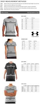 Under Armour Sweater Size Chart Under Armour Sizing Chart Amerasport