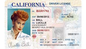 Traffic License California Driver's Tickets Cvc 12500