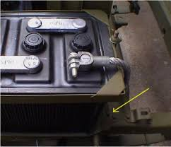 wiring or re wiring steps for you early to mid wwii willys jeep now connect the battery ground cable it will go to the shock mount for fords and the battery tray for willys
