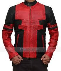 fan jackets. deadpool leather jacket fan jackets