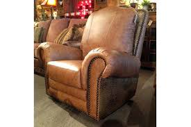 exceptional rustic leather recliner chairs picture ideas