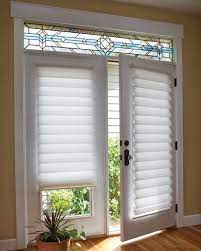 pin by sue sume on window treatment ideas french door window treatments patio door window treatments door coverings