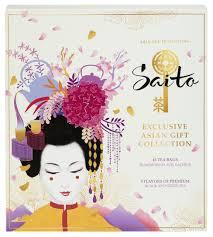 <b>Чай Saito Exclusive Asian</b> Gift Collection ассорти подарочный набор