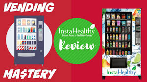 Shop 24 Vending Machine Franchise Extraordinary InstaHealthy Reviews By Vending Mastery
