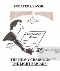 Image result for Electric money cartoon