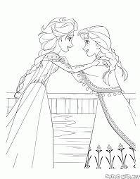 Disegni Da Colorare Elsa E Anna
