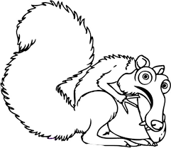 Small Picture Eddie the Opossum is the Animals of the Ice Age Coloring Pages