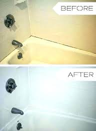 painted shower can i paint my bathtub kit bunnings one year later