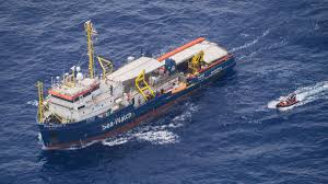 Rescue Ship With 42 Migrants Stuck Off Italys Lampedusa The National