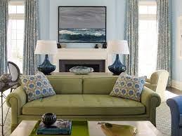 green couch Цвета гостиной Цвета для