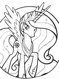 princess celestia coloring pages beautiful my little pony coloring pages princess celestia