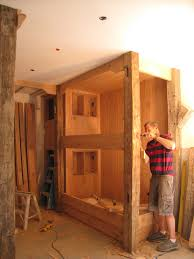 Built In Bunk Beds Rustic Built In Bunk Beds For The Boys Pinterest Bunk Bed