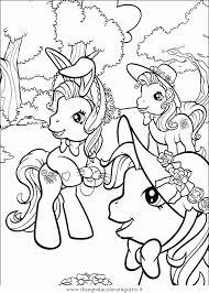 Disegni Cartoni Animati Colorati Disegno Piccolo Pony 73