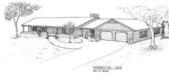 Country Ranch House Plan   Bedroom House   Car GarageCountry Ranch House Plan BR   Garage
