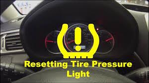 2007 Scion Tc Tire Pressure Light Reset Resetting Low Tire Pressure Light