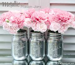 How To Decorate Mason Jars How To Paint and Distress Mason Jars 51