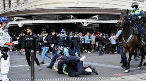 Maybe you would like to learn more about one of these? Massive Crowds Protest Covid 19 Lockdowns In Sydney And Melbourne
