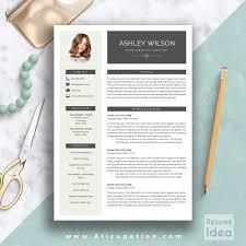Creative Resume Cover Letter Creative Resume Template Modern Cv Template Word Cover Letter Modern 15