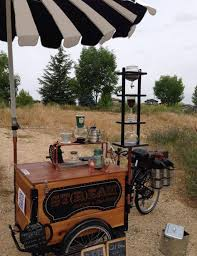 coffee tricycle build by icicle tricycles
