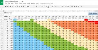 Body Index Chart Free Printable Body Mass Index Chart