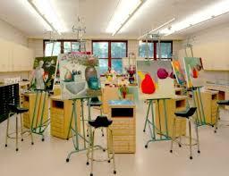 artist studio lighting. bright artist studio space lighting colorful fun ideas redesign