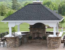 patio outdoor stone kitchen bar: exterior ideas appealing simple outdoor kitchen for backyard design cabinets and decor with natural true