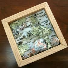 How To Decorate Shadow Boxes Decoration Ideas Delectable Image Of Square Birch Wood Framed 31