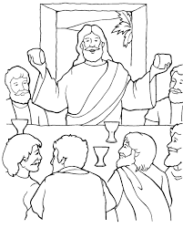 last supper the last supper coloring page on last supper coloring page