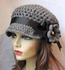 Crochet Newsboy Hat Pattern Free