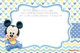 Free Printable Disney Baby Shower Invitations Baby Shower Free