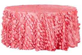 petal circle taffeta round 120 tablecloth c deal of the week ends